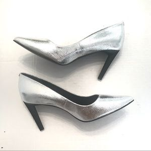 Kendall & Kylie Silver Heels Size 8